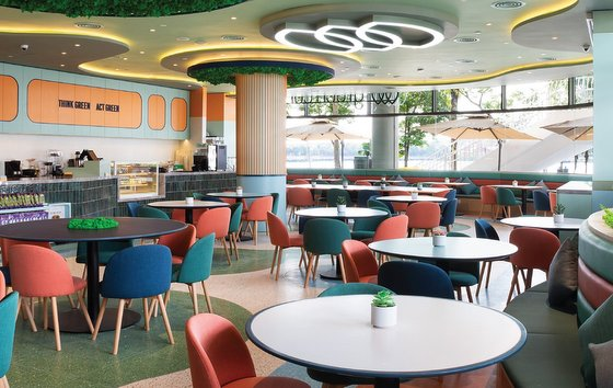 Green Common - Vegetarian Restaurant in Singapore - VivoCity.