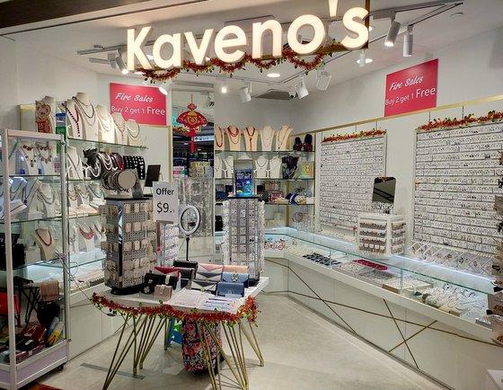Kaveno's De Accessories Shop in Singapore - Chinatown Point.
