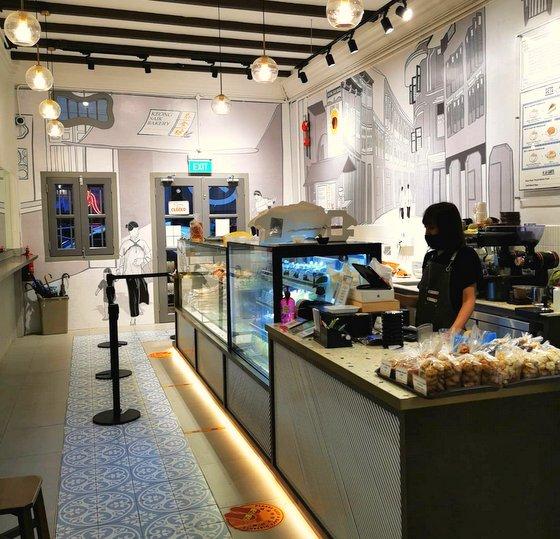 Keong Saik Bakery -  Sor Hei in Singapore.