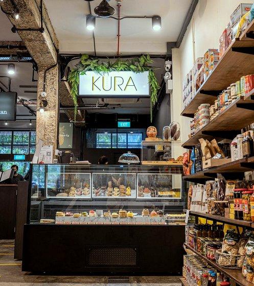 KURA Bakery Store in Singapore.
