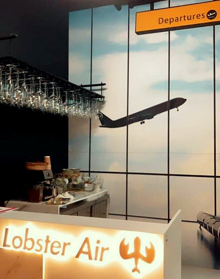 Lobster Air City Gate - Themed Restaurant in Singapore.