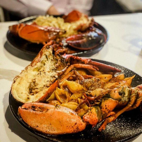 Marinara Lobster Conchiglie.