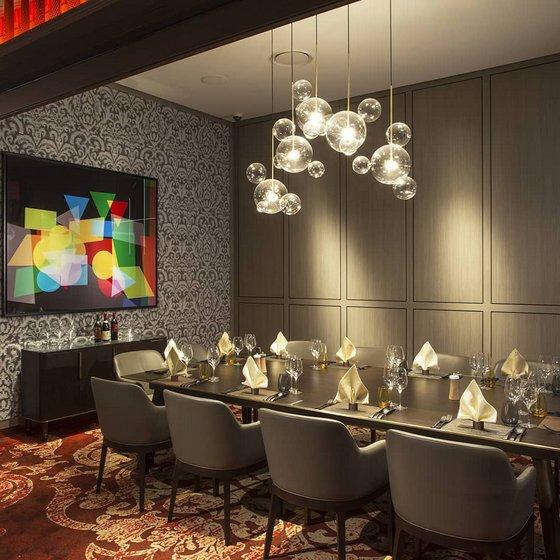 Private Room Dining in Singapore - Bellissima Private Room - Grissini Italian Grill Restaurant.