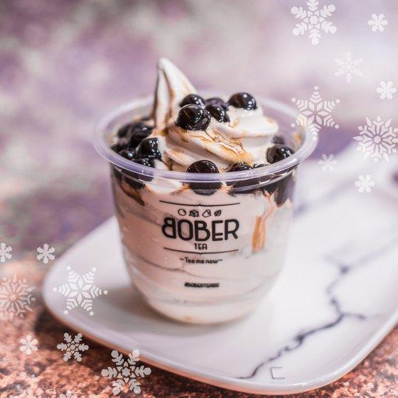 Soft Twist Ice Cream Bober Tea.
