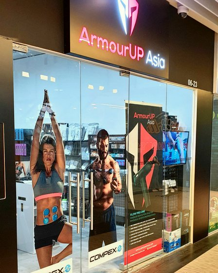 ArmourUP Asia - Weight Lifting Accessories in Singapore - Orchard Central.