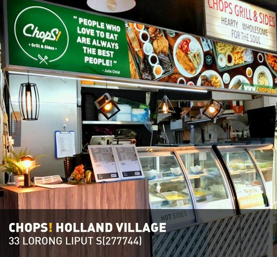 ChopS! Grill & Sides Restaurant in Singapore - Holland Village.