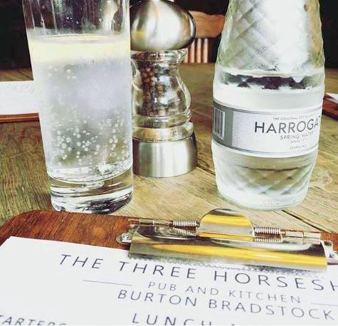 Harrogate Spring Water - The Water Sommelier.