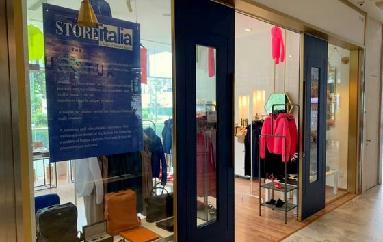 Italian Lifestyle Shop in Singapore - StoreItalia - OUE Downtown Gallery.