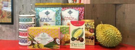 Singaporean Snacks Shop - Taste Singapore.