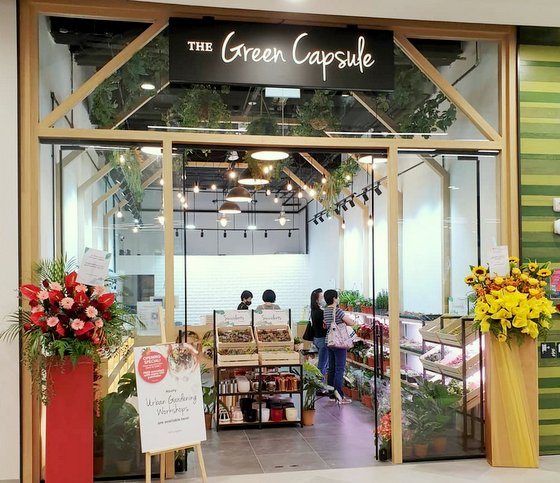 The Green Capsule Great World - Garden Store in Singapore.
