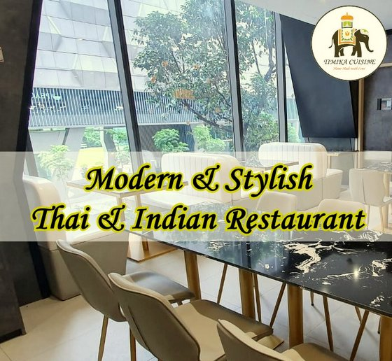 Timika Cuisine - Thai Indian Fusion Restaurant in Singapore - OUE Downtown Gallery.