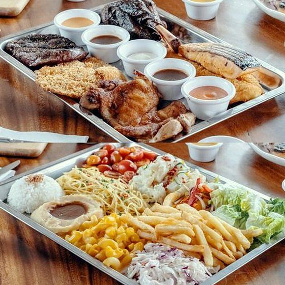 XXL Platter - ChopS! Grill & Sides Restaurant in Singapore.