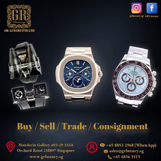 Buy Used Rolex Watches in Singapore - GR Luxury.