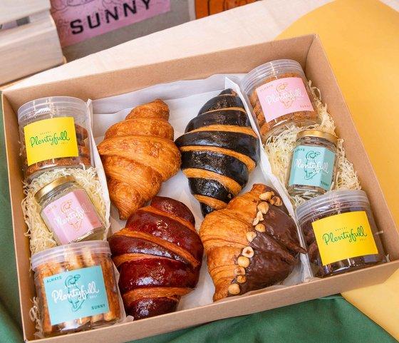 Croissants in Singapore - Plentyfull Bakery & Deli.