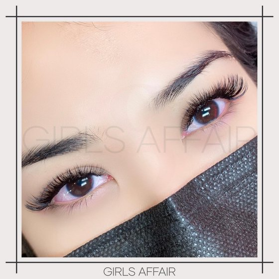 Eyelash Extensions in Singapore - Girls Affair - 9D Russian Volume Lashes.