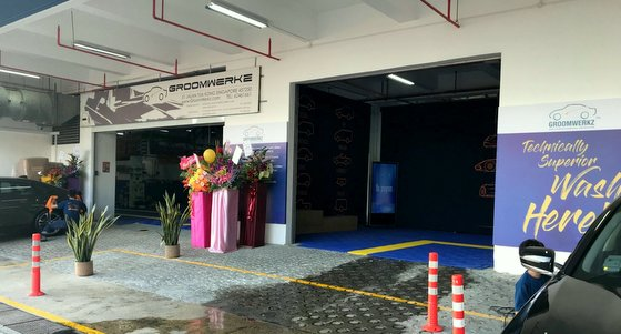 GroomWerkz - Car Grooming Services in Singapore.