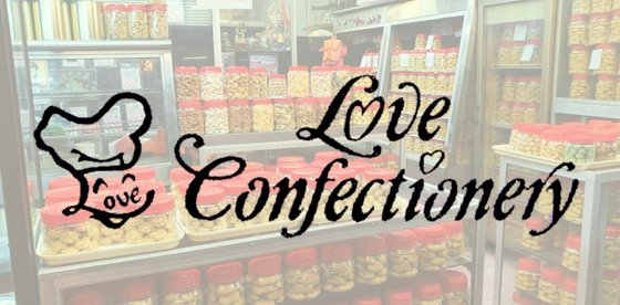 Love Confectionery - Old School Bakery in Singapore.