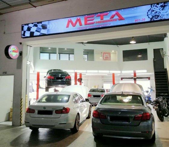 Meta Mechanic - BMW Mechanic in Singapore.