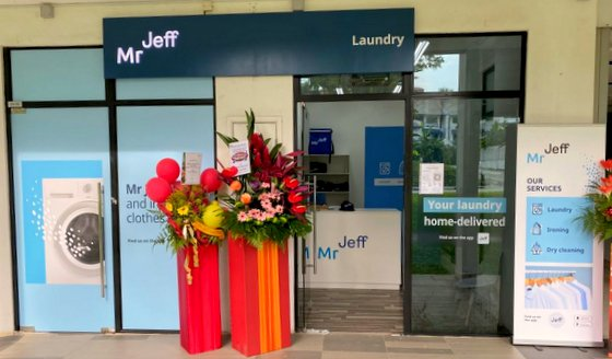 Mr Jeff Viva Vista - Dry Cleaning Pickup and Delivery in Singapore.