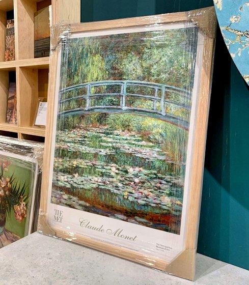 "Museum Art Prints in Singapore - Alexandria Maison - Claude Monet ""Bridge over a Pond of Water Lilies"""