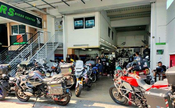 RS BIKES Centre - Motorcycle Repair in Singapore.
