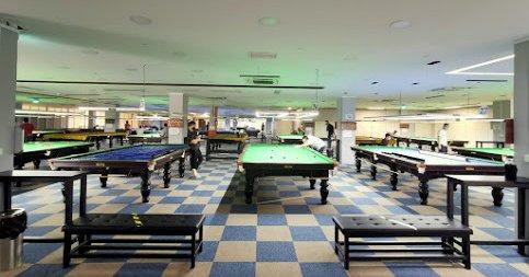 West Coast Billiard Saloon in Singapore.