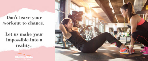 All Female Gym in Singapore - Phillip Wain SG.