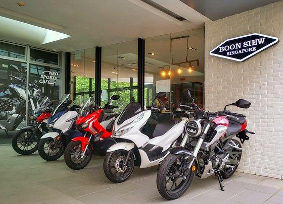 Boon Siew Alexandra - Honda Motorcycles in Singapore.