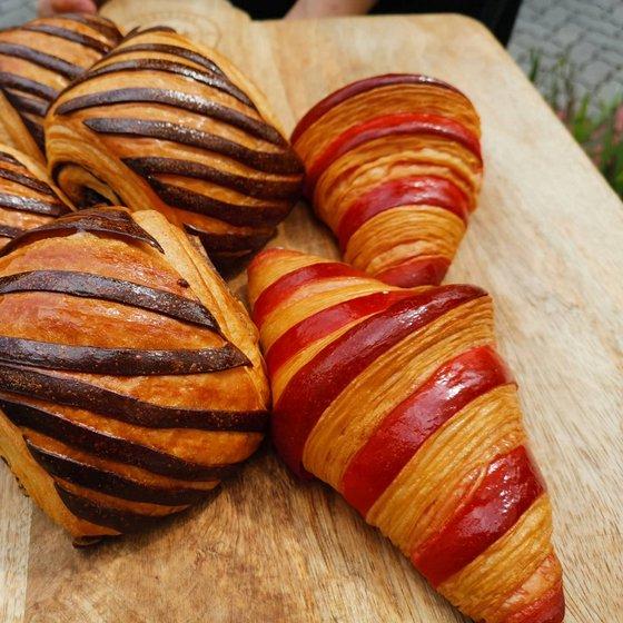 Croissants in Singapore - Enjoué Bakery - Artisan Bakery in Singapore.