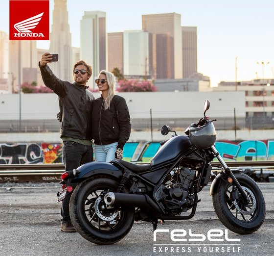 Honda Motorcycles in Singapore - CMX500 Rebel - Boon Siew.