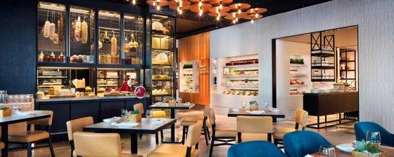 JW Marriott Beach Road Kitchen Restaurant in Singapore.