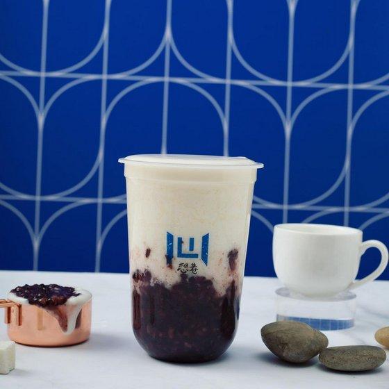 Purple Rice Yogurt 500ml - Hearty.