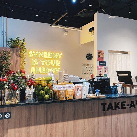 Synergy Coffee - Korean Cafe in Singapore.