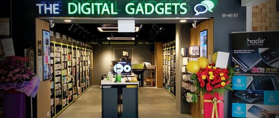 The Digital Gadgets Parkway Parade - Mobile Phone Accessories in Singapore.