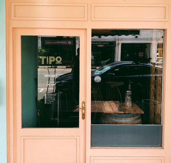 Tipo Pasta Bar in Singapore.