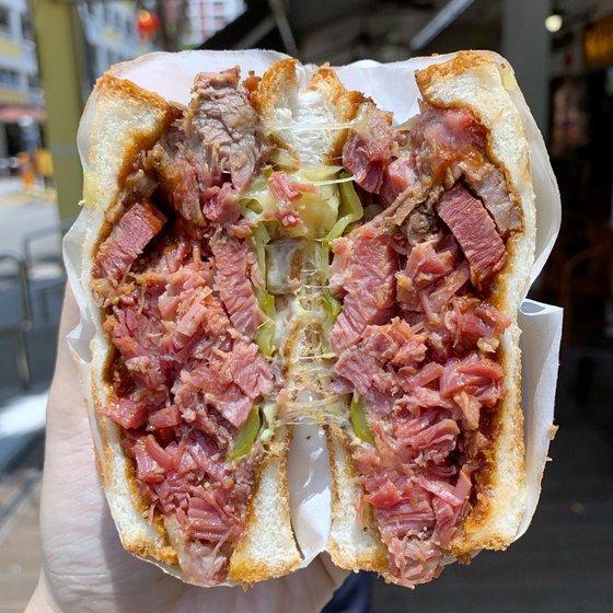 Beef Sandwich - Samwitch - Sandwich Shop in Singapore.