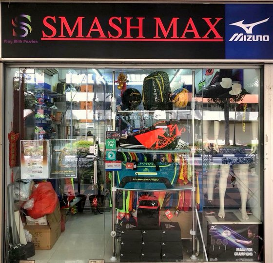 Smash Max - Badminton Shop in Singapore.