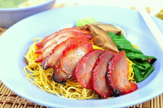 Wanton Noodles in Singapore - Ji Ji Noodle House.
