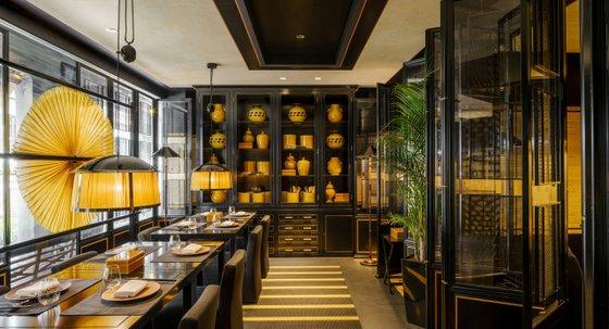 Yellow Pot Modern Chinese Restaurant in Singapore.