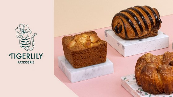 Tigerlily Patisserie in Singapore.